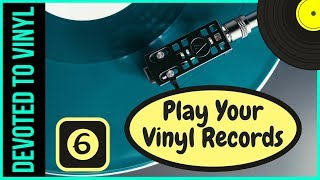 How To Play Vinyl Records Properly