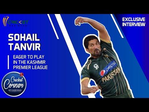 Sohail Tanvir eager to play in the Kashmir Premier League