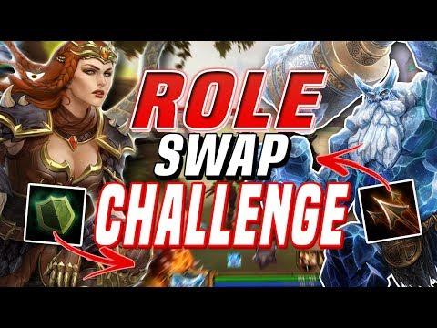 Smite: ROLE Swap Challenge with Weak3n!