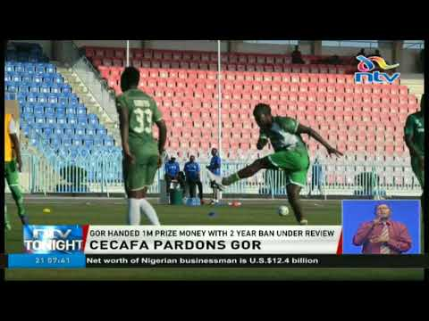 Gor Mahia handed 1m prize money with 2 year ban under review
