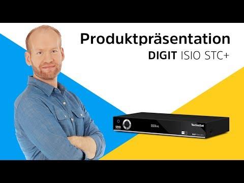 DIGIT ISIO STC + | Smarter UHD/4K-Receiver mit dreifachem TwinTuner und integriertem HD+ | TechniSat