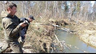Ловля рыбы весной на малых речках