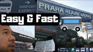 Airport Express Bus Stop (AE), Prague