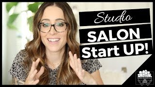✨HOW TO START A STUDIO SALON // EVERYTHING YOU NEED TO KNOW! // HAIR STYLIST BUSINESS TIPS⭐