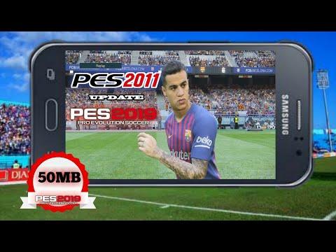 PES 2011 MOD 2019 V 3 Android Offline 50 MB New Transfer