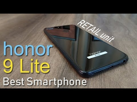 honor 9 Lite review RETAIL unit  (part 1) – Best Smartphone for Rs. 10,999