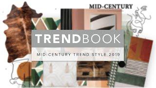 Mid-Century Modern Decor Trend Style 2019