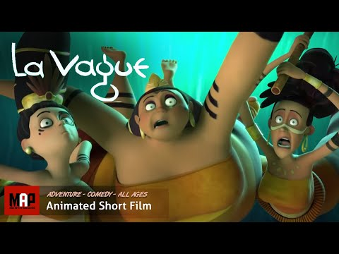 "CGI 3D Animated Short Film ""LA VAGUE"" – Hilarious Animation by ESMA"