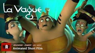 "CGI 3D Animated Short Film ""LA VAGUE"" - Hilarious Animation by ESMA"