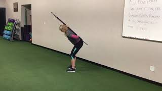 Teaching the Hip Hinge - Installment 1