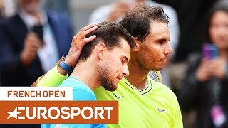 Rafael Nadal Vs Dominic Thiem Highlights | Roland Garros 2019 Final | Eurosport