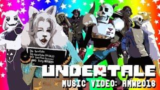 UNDERTALE DANCE MV Anime Midwest 2016