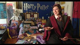 Harry Potter Superfan Gets J.K. Rowling Tattoo