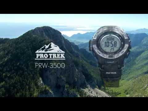 Casio Pro Trek PRW-3500 Triple Sensor Ver.3 Watch