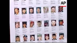 Names Of US Iraq Dead Read Out In Congress