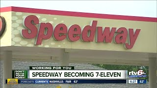 Speedway becoming 7-Eleven