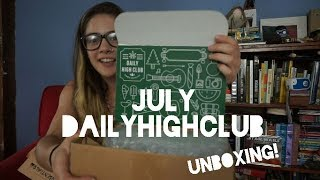 Daily High Club | JULY UNBOXING
