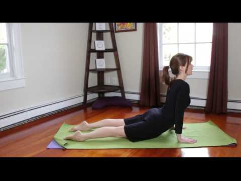 "Yoga How To ""Roll Over The Feet"" From Up-Dog To Down-Dog"