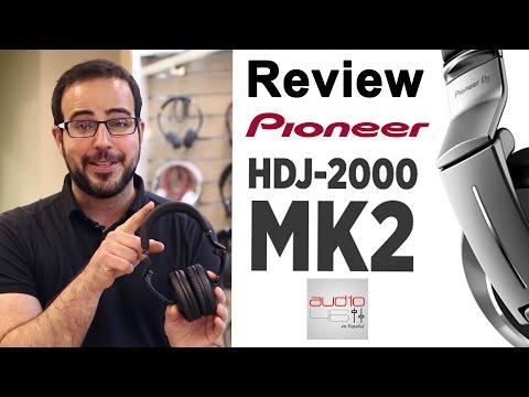 Pioneer hdj-2000 MK2 Review. Mejores auriculares DJ