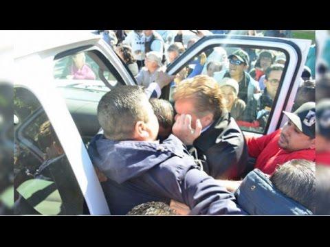 Video completo y sin cortes de la agresión al Gobernador Kiko Vega 28 ene 2017