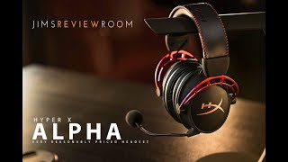 Hyper X Cloud Alpha - SO GOOOOD - REVIEW