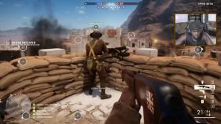 Battlefield 1 Multiplayer Gameplay - FOUND MY FAVORITE GUN! | Battlefield 1 Open Beta Gameplay