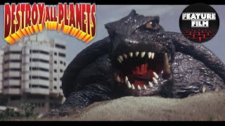 GAMERA VS VIRAS | DESTROY ALL PLANETS | SF | sci-fi movies | full length movies for free online