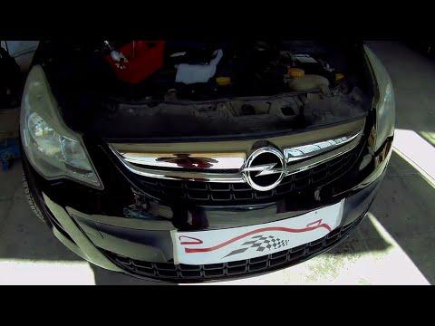 Opel Corsa D (2006–2014)  Front bumper removal