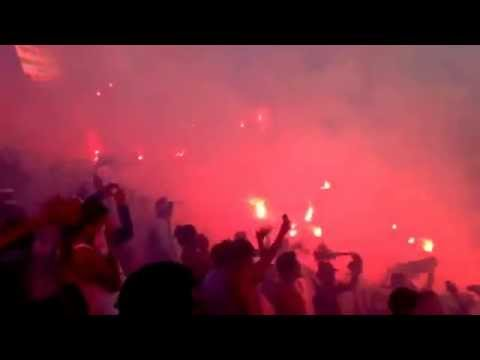 """[31/8/14] clásico capitalino, Bengaleo de la Ultra Fiel"" Barra: La Ultra Fiel • Club: Club Deportivo Olimpia • País: Honduras"
