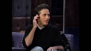 "Jon Stewart on ""Late Night with Conan O'Brien"" - 10/15/99"