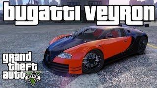 GTA 5: How to Get The Bugatti Veyron Car! *Hidden Car* (Fastest Car In GTA 5)