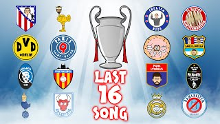 🏆THE LAST 16🏆 Champions League Song - 19/20 Intro Parody Theme Knockout Stage!