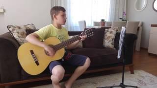 Gitarla Fabrika Kızı (Akorlu)