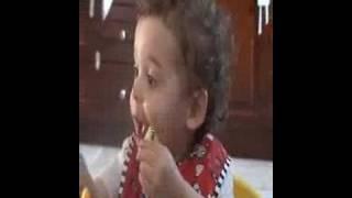 Ezra eats