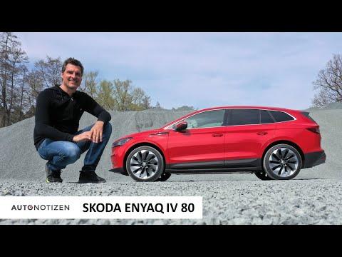 Skoda Enyaq iV 80: Was kann das Familienauto mit Elektroantrieb? Test   Review   Fahrbericht   2021