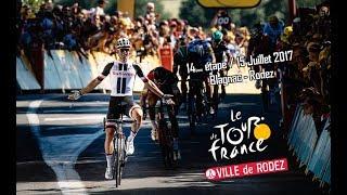 Le Tour de France à Rodez - 15 JUILLET 2017