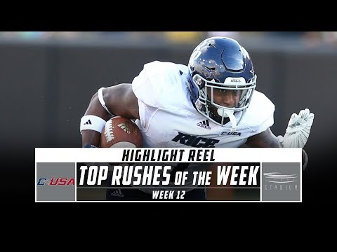 Conference USA Top Rushes of the Week: Week 12 (2019) | Stadium