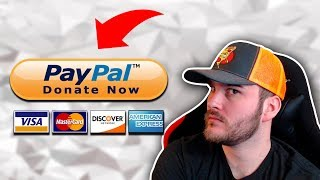 How To Setup ⚙ PayPal 💸 Donations 🤑