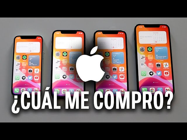 iPhone 12 vs 12 Mini vs 12 Pro vs 12 Pro Max: ¿Cuál me compro? Comparativa