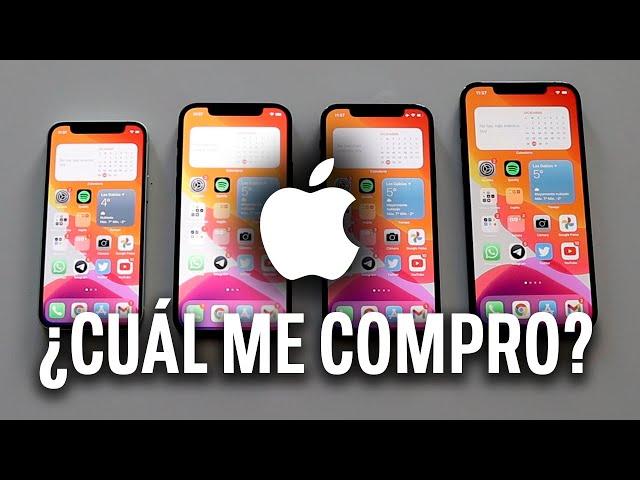 iPhone 12 vs 12 Mini vs 12 Pro vs 12 Pro Max: ¿Cuál me compro? Comparativa