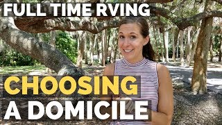 Getting a Permanent Address & Choosing a Domicile State   Full Time RV Living