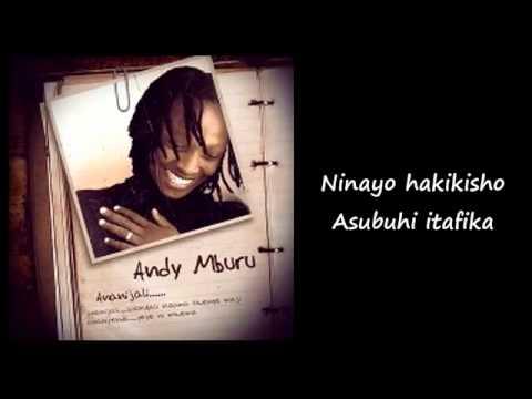 Andy Mburu   Ananijali Lyric Video