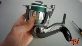 Замена пружины лесоукладывателя на рыболовной катушке