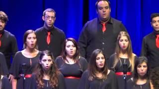 """NOW WE ARE FREE (Gladiator Theme) - International Choir Festival """"Canta al Mar"""" - Calella 2015"""