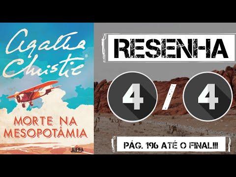FINAL TOP!!! Morte na Mesopotâmia - Agatha Christie | Resenha OsTrêsLivreteiros (Final!!)