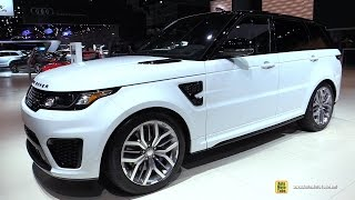 2015 Range Rover Sport SVR - Exterior Walkaround - 2014 LA Auto Show