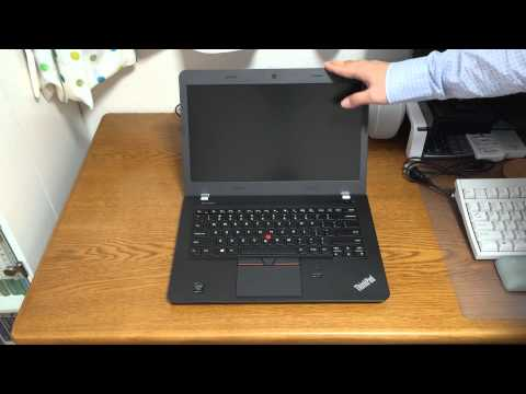 Lenovo ThinkPad E450 Unboxing and Quick Look (Eng)