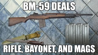 BM-59 Bayonet w/ Scabbard - Un-Issued Surplus Military Production