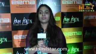 Sunitha Sarathy at Kashmir Flood Fund Raising Press Meet