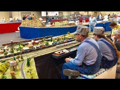 Model Railroad Display & Model Train Show!....  Train Convention!